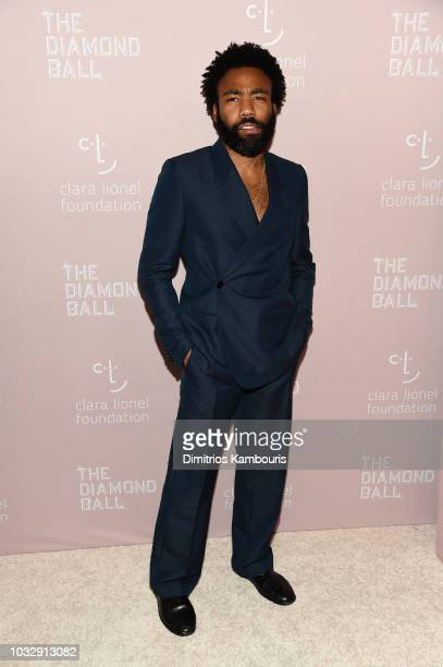 Childish Gambino attends Rihanna's 4th Annual Diamond Ball benefitting The Clara Lionel Foundation at Cipriani Wall Street on September 13 2018 in...
