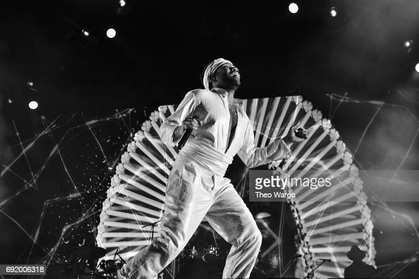 Childish Gambino performs onstage during the 2017 Governors Ball Music Festival - Day 2 at Randall's Island on June 3, 2017 in New York City.