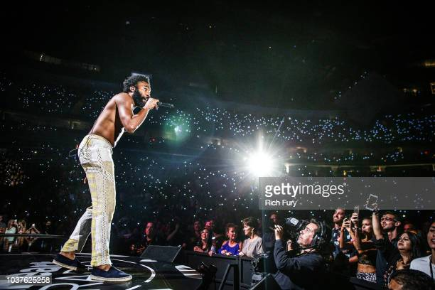 Childish Gambino performs onstage during the iHeartRadio Music Festival at T-Mobile Arena on September 21, 2018 in Las Vegas, Nevada.