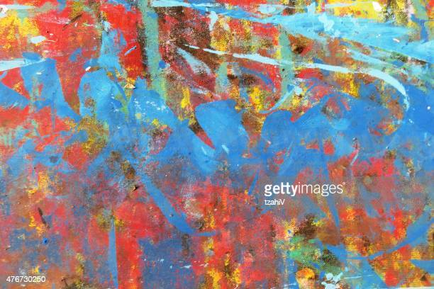 Children Abstract Painting