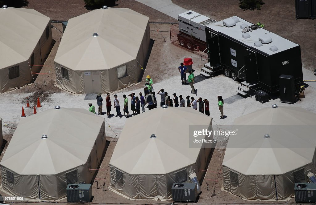 Photos: The Camp At The Heart Of Family Separation Furor
