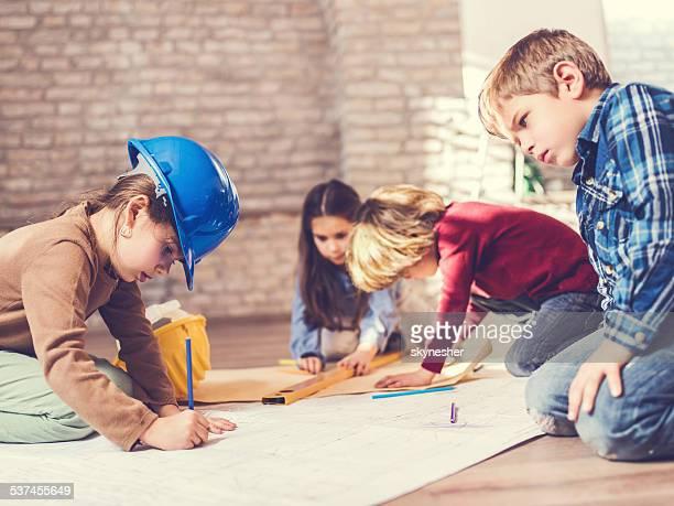Children architects.