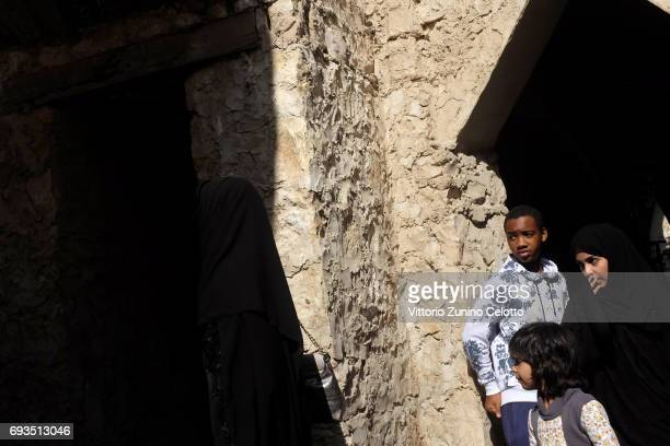 Children are playing at Souq Waqif on December 3 2014 in Doha Qatar Six Countries broke diplomatic relationships with Qatar