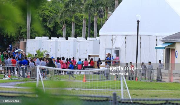 Children are seen at the Homestead shelter for migrant children in Homestead Fla on June 23 2018