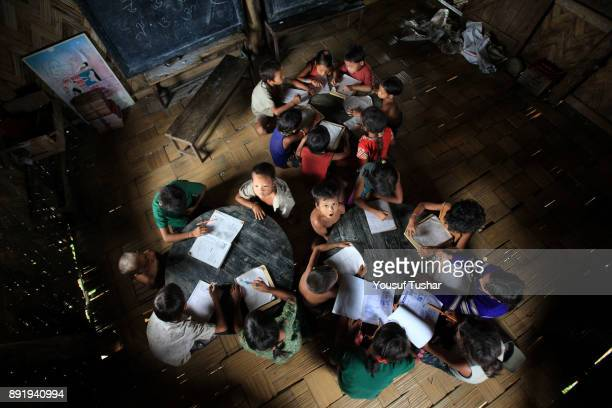 THANCHI BANDARBAN BANGLADESH Children are studying in the morning in the orphanage cum primary school For tribal children an orphanage cum primary...