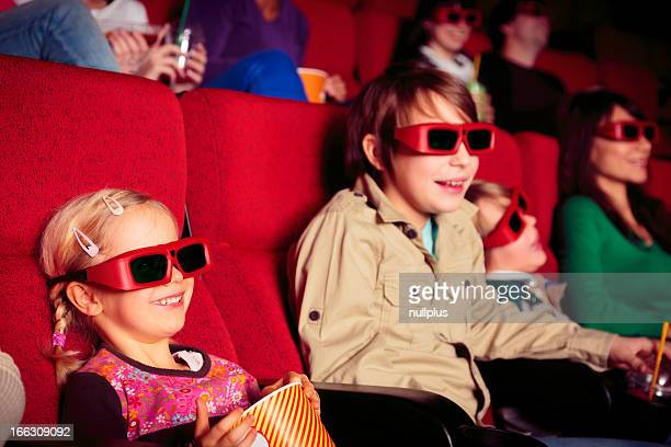 children at the cinema