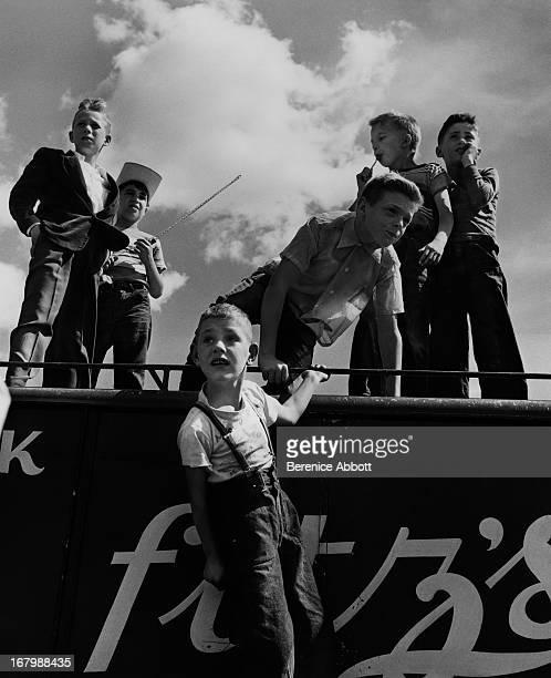 Children at the fair USA 1967