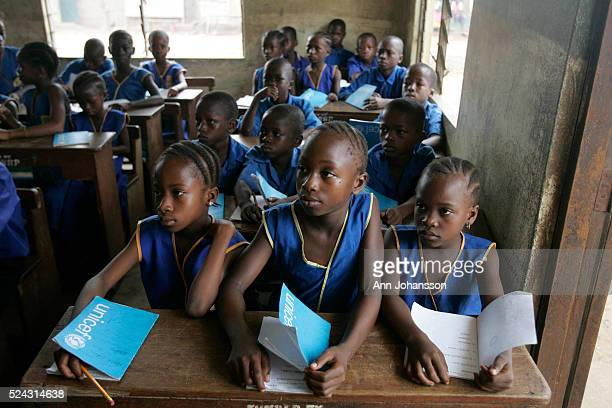 Children attend school in Kenema Sierra Leone
