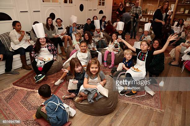 Children attend the second season premiere of Amazon Original Series 'Just Add Magic' at Au Fudge on January 14 2017 in West Hollywood California