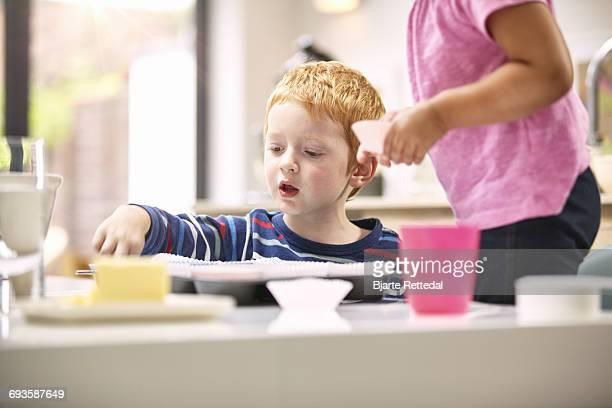 Children Baking Cupcakes