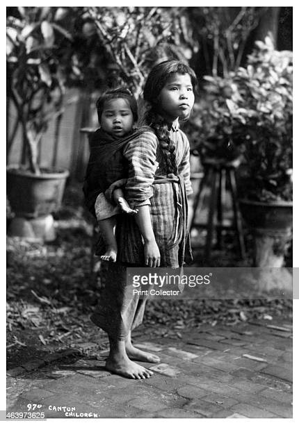 Children, Canton, China, early 20th century.