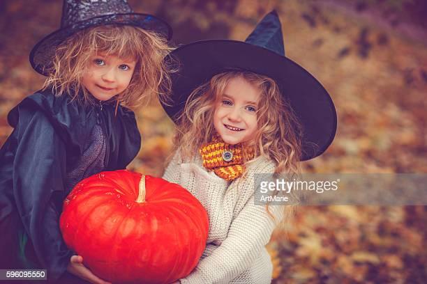 Enfants fête d'Halloween