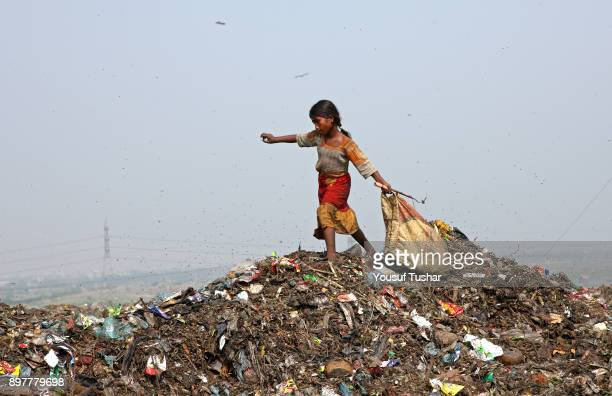 Children collect rubbish for resale At the end of the day they earn TK 6080 The Matuail dump yard is one of the three waste sites of Dhaka a city of...