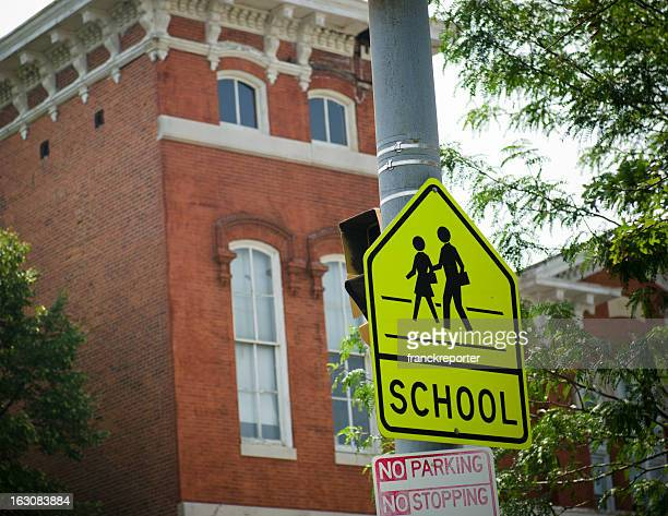 Children Crossing road sign in Philadelphia
