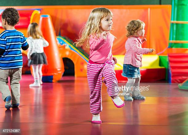 children dancing. - dancing stock photos and pictures