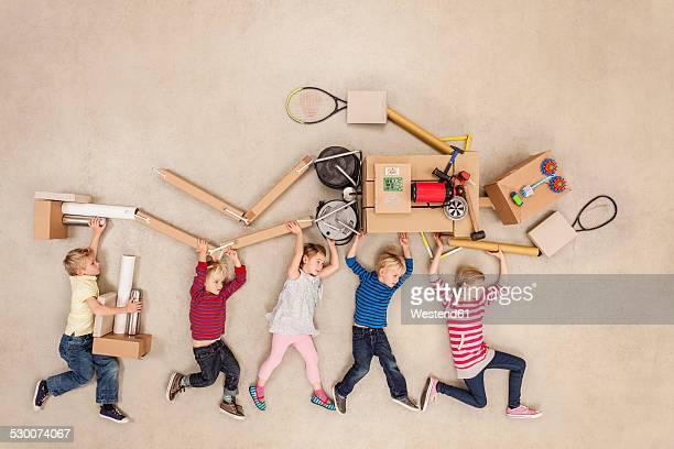 Children developing robot