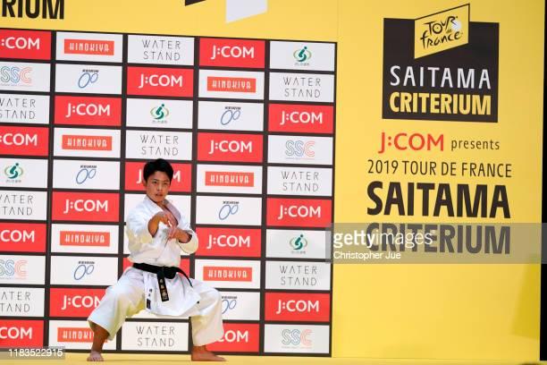 Children / during the 7th Tour de France Saitama Criterium 2019, Karate show / @LeTour / #SaitamaCriterium / on October 26, 2019 in Saitama, Japan.