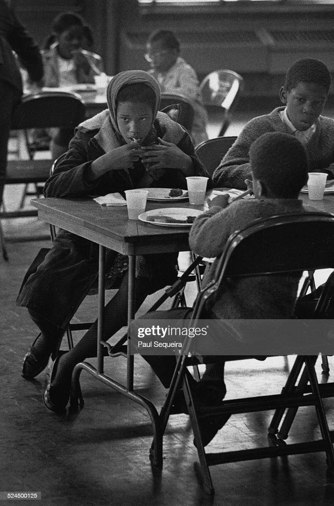 Black Panther Breakfast Program : Photo d'actualité