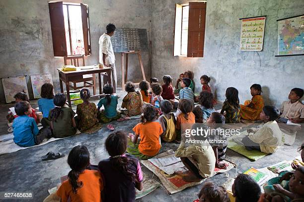 Children from a Dalit community take part in education classes MSS facilitate programs targeting children of rural communities in the Maharjganj...