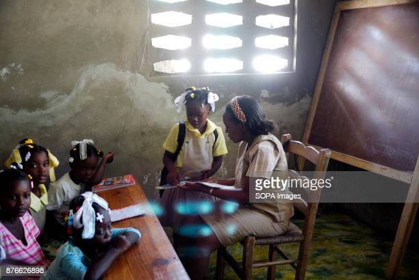 Children from orphanage, damaged by earthquake. On January 12th 2010, an earthquake hit this poor Caribbean country. The disaster caused...