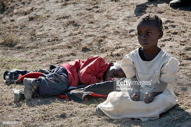 Children from the Luo tribe wait to be transported to a safe place in Naivasha Kenya on on Tuesday Jan 29 2008 Kenya's main opposition party appealed...