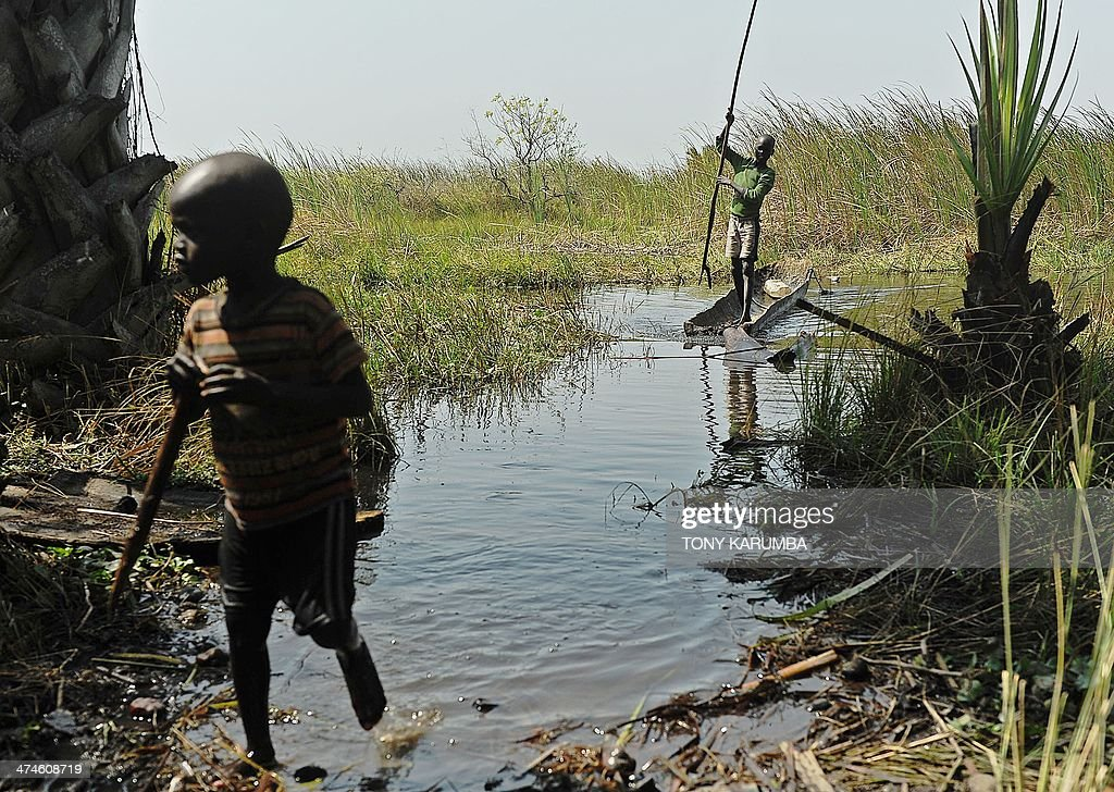 SOUTH SUDAN-UNREST-DISPLACED : News Photo