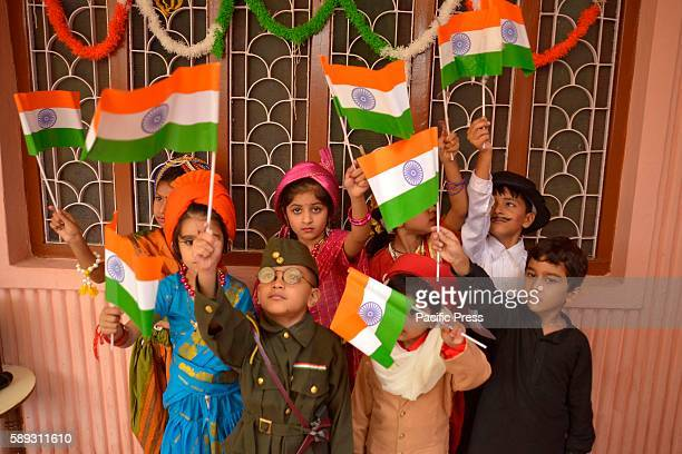 Children gear up for independence day celebration in Ajmer