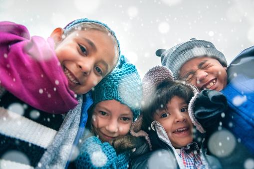 Children Group Hug 878022620
