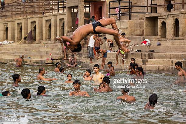 CONTENT] Children having fun in Ganges