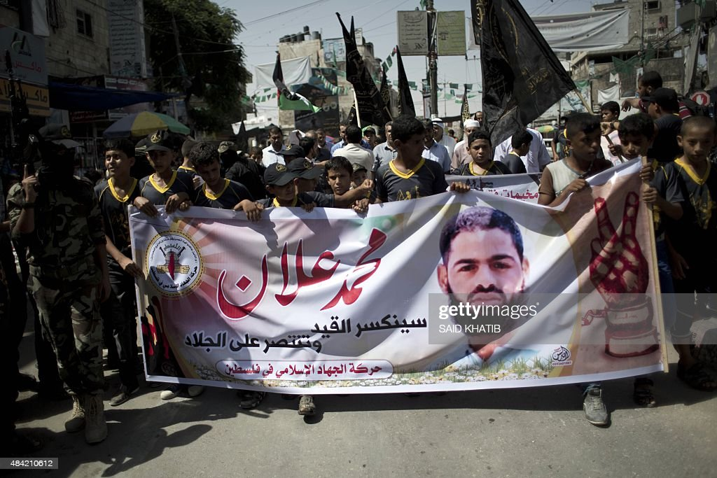 PALESTINIAN-ISRAEL-GAZA-CONFLICT-RALLY : News Photo