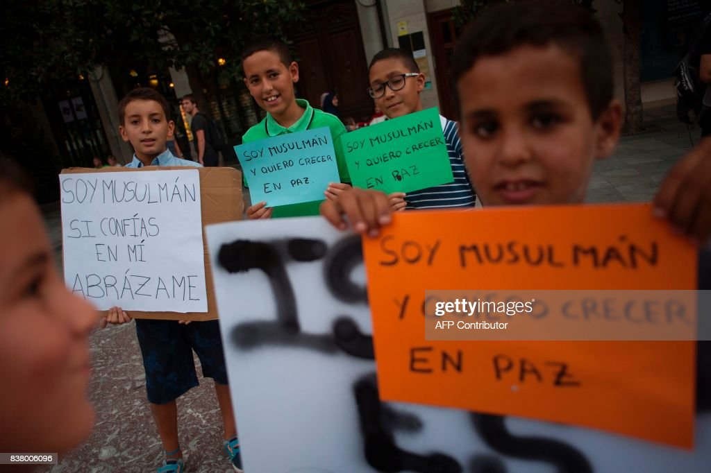 SPAIN-ATTACKS-DEMO : News Photo