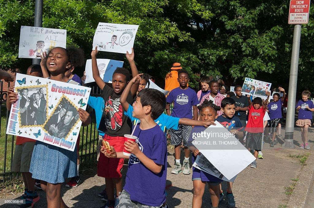 US-BOX-USA-ALI : News Photo