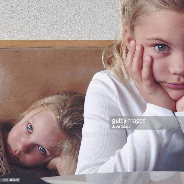 Children impatiently waiting for drinks at a cafe
