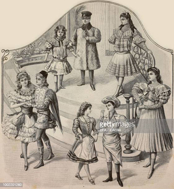 a 57 year old girl in a fancy dress a child in car driver costume a 911 year old girl in an elegant dress a girl in a Rose costume a child wearing a...