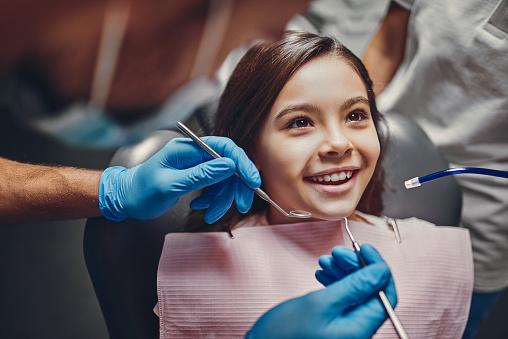 Children in dental clinic 1125912902