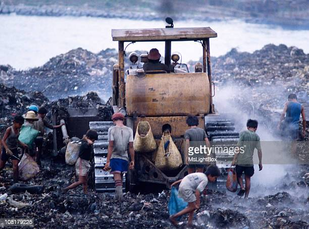 Children in Landfill