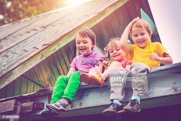 Children in summer