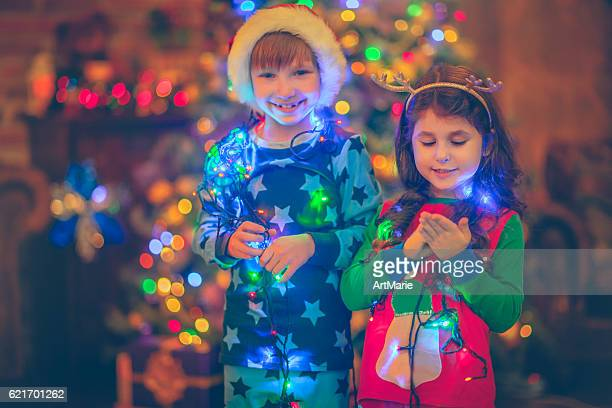 Children in Xmas