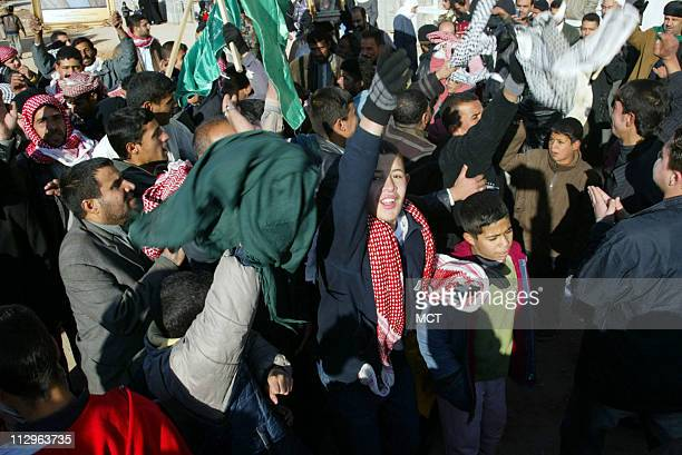 Children joined in the celebrations of the death of former Iraqi leader Saddam Hussein in the Shiite holy city of Najaf Iraq Saturday December 30...
