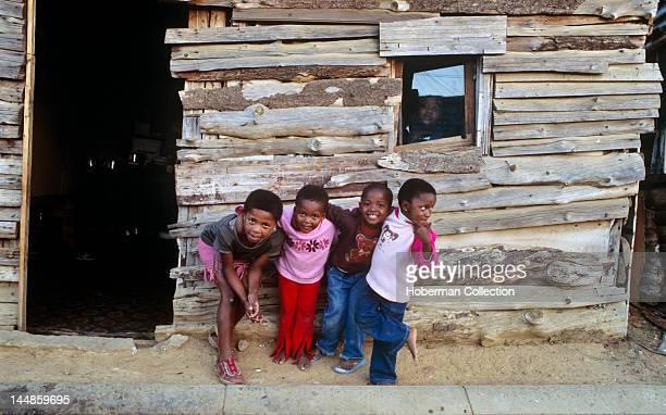 Children Kayamandi township Stellenbosch Western Cape