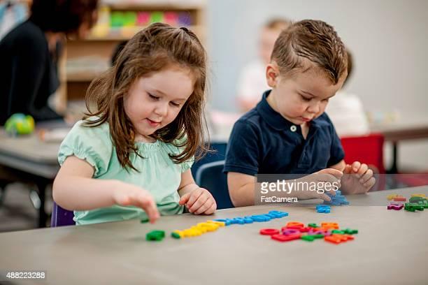 Children Learning to Spell