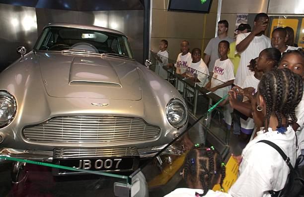 Children Look At An Aston Martin DB That Appeared Pictures Getty - Aston martin washington dc