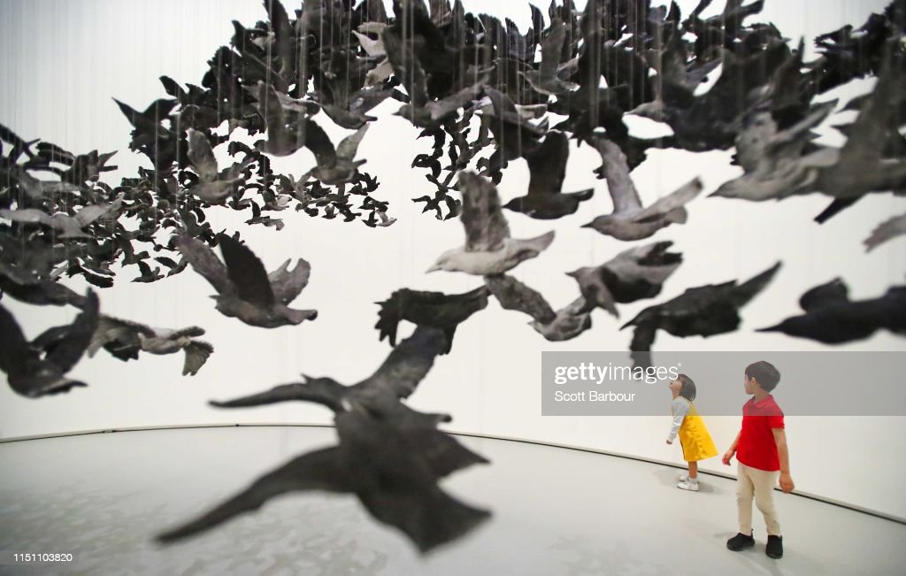 AUS: National Gallery Of Victoria Unveils Terracotta Warriors: Guardians Of Immortality   Cai Guo-Qiang: The Transient Landscape