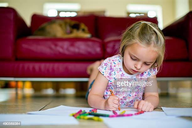 Children love to colour