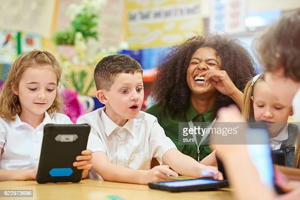children make this job fun
