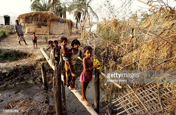 Children of a devastated village The 1991 cyclone was one of the deadliest tropical cyclones on record that struck Bangladesh The cyclone hit the...