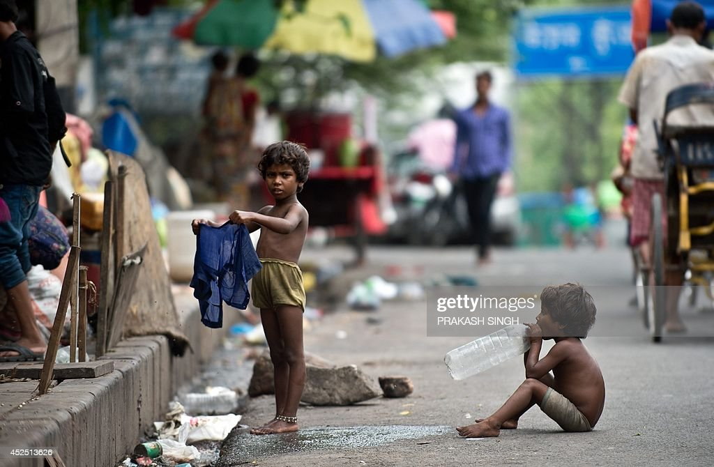 INDIA-SOCIETY-HOMELESS : News Photo
