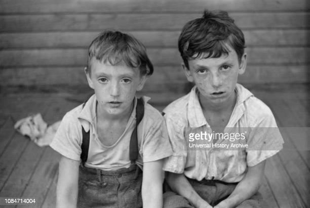 Children of Albert Lynch Farm Security Administration Client Dummerston Vermont USA Jack Delano Farm Security Administration August 1941