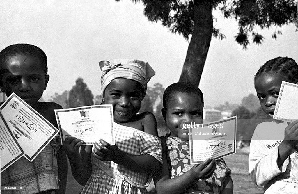 Children Of Cameroon : News Photo