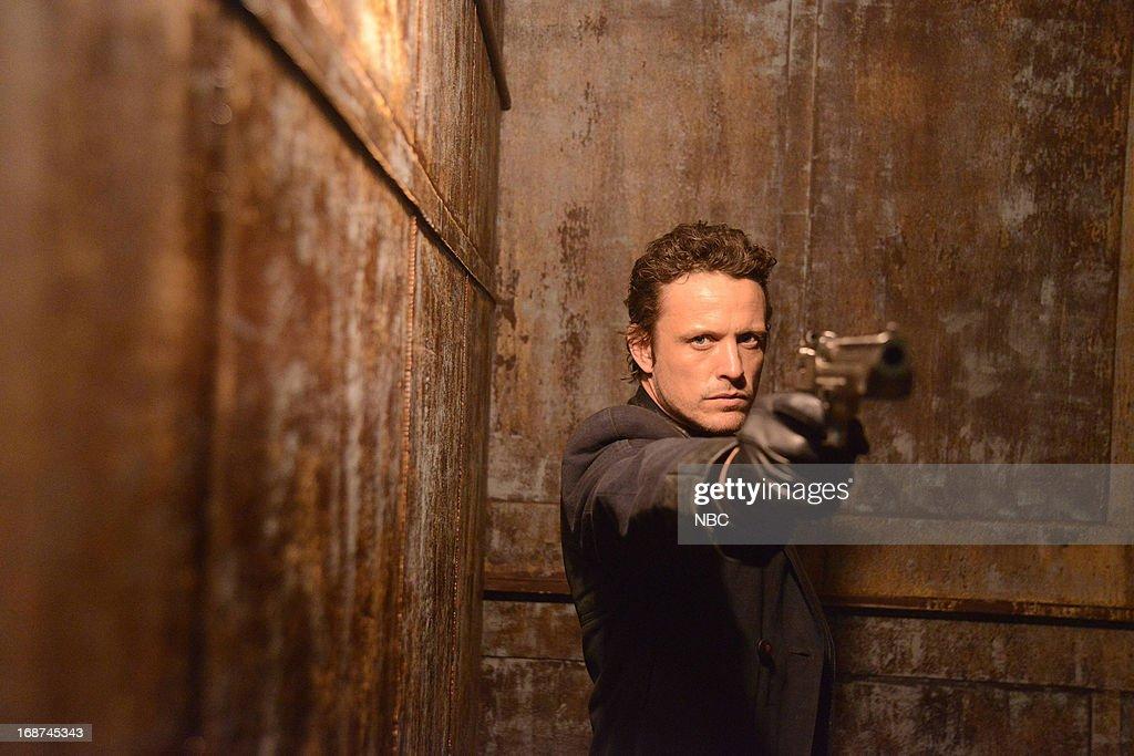 REVOLUTION -- 'Children of Men' Episode 119 -- Pictured: David Lyons as Bass --
